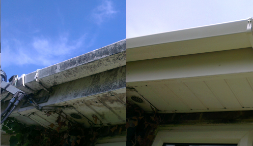 Gutter cleaning in Rayleigh